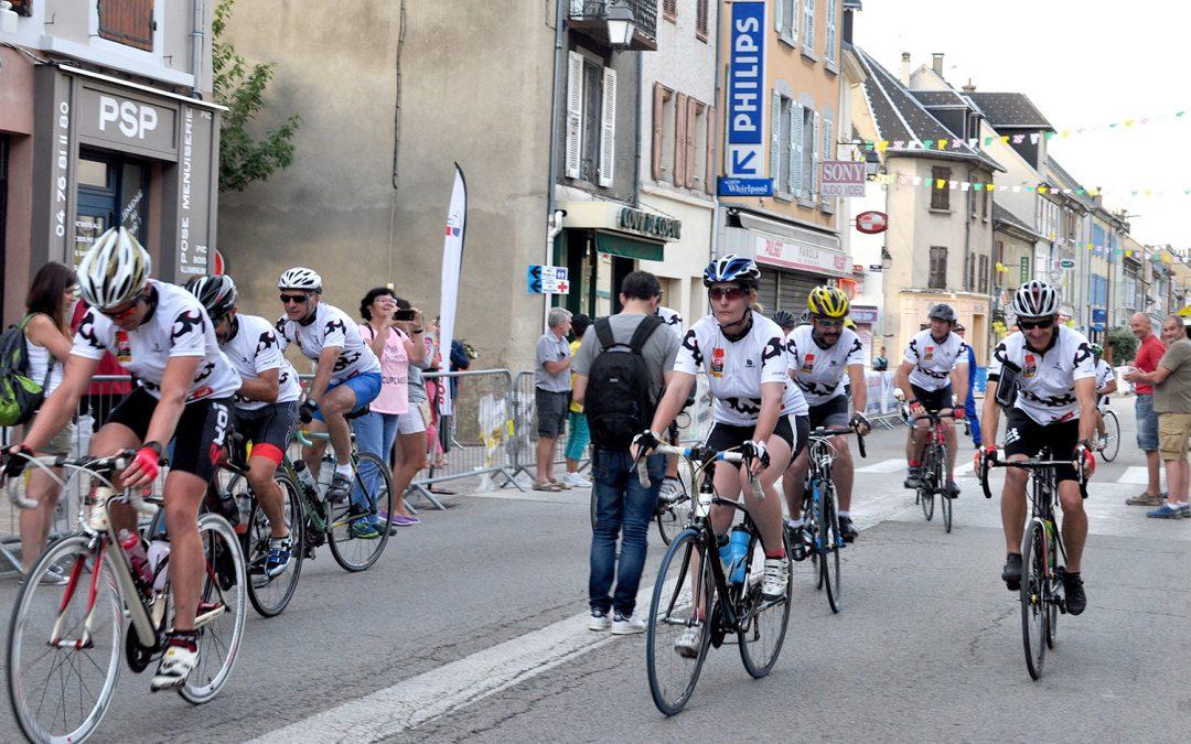 Le maillot CGT sur la route du Tour
