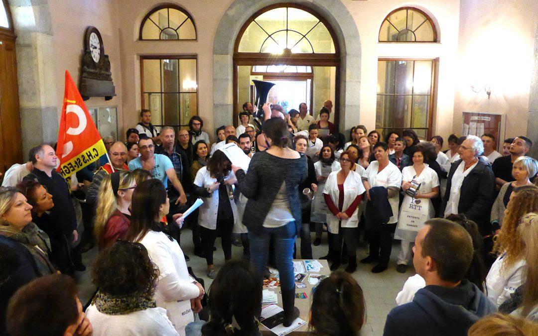 Hôpital de Saint-Egrève : la victoire des salariés