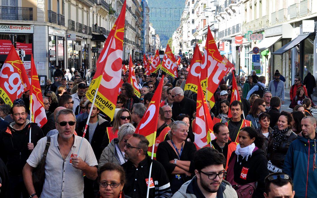 21 septembre, 3500 personnes dans les rues de Grenoble