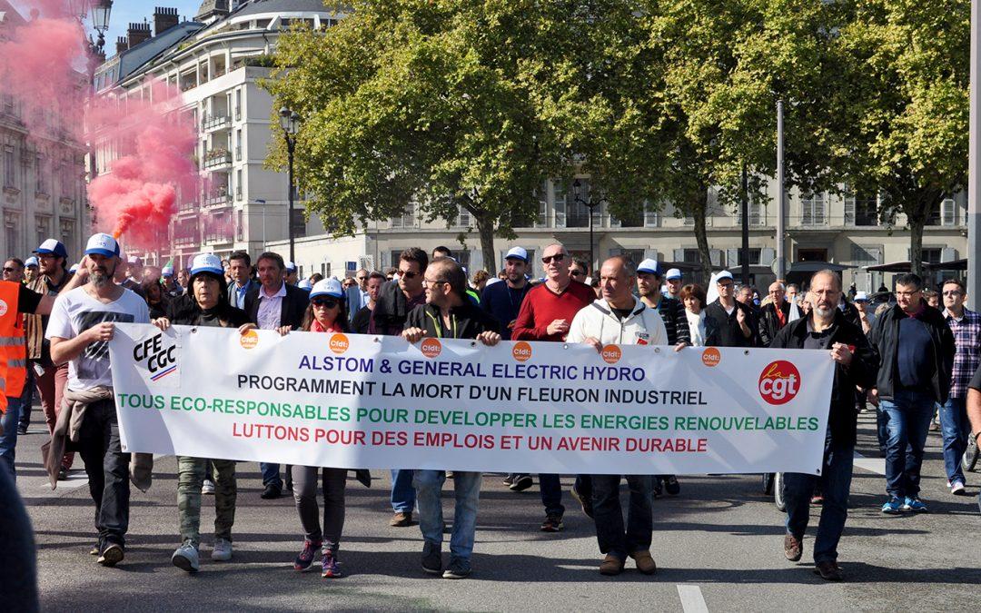 General electric : une lutte d'intérêt national