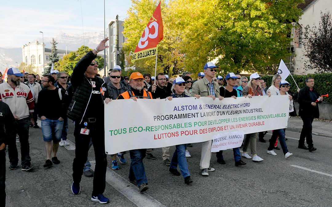 GE Alstom hydro : le PSE rejeté
