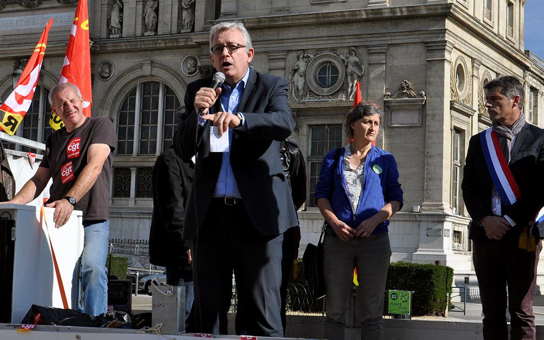 GE Alstom hydro : un scandale d'Etat, souligne Pierre Laurent
