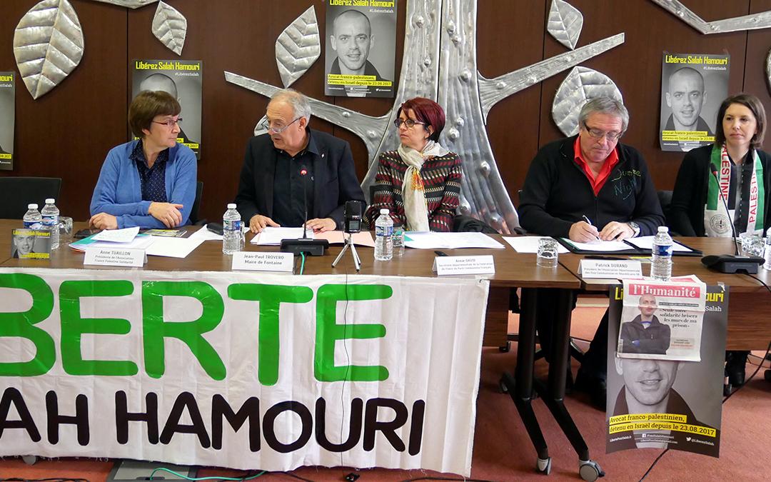 Salah Hamouri : 90 élus isérois signent pour sa libération