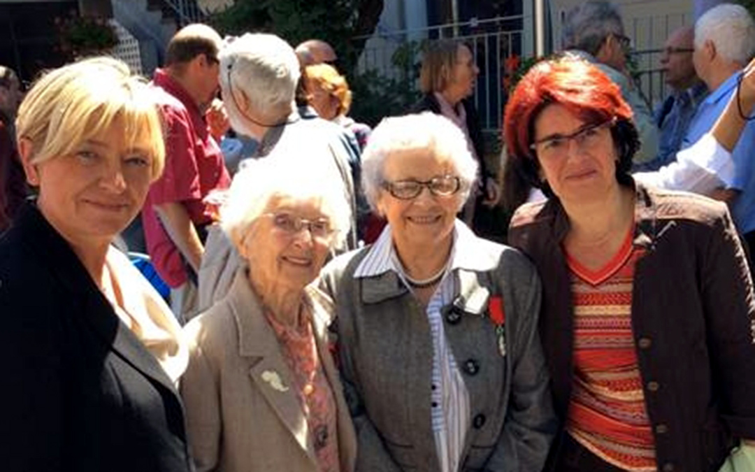 Denise Meunier  fête son centième anniversaire