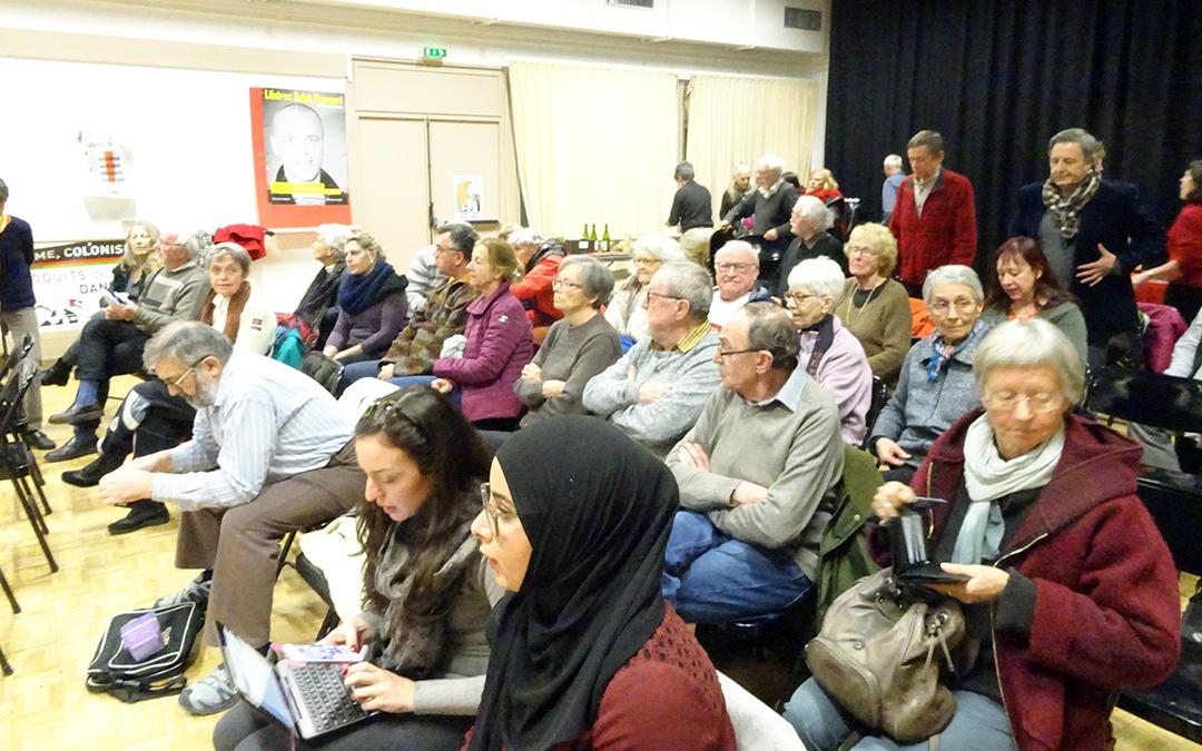 France Palestine : une conférence sur 70 ans de nettoyage ethnique en Israël