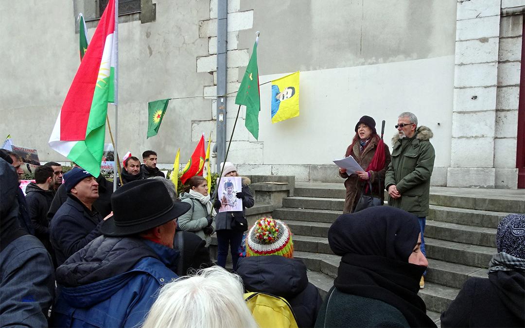 Kurdes de Syrie : la solidarité s'organise contre l'agression turque