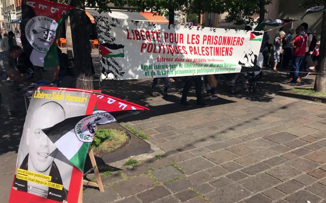 Solidarité avec les prisonniers politiques palestiniens