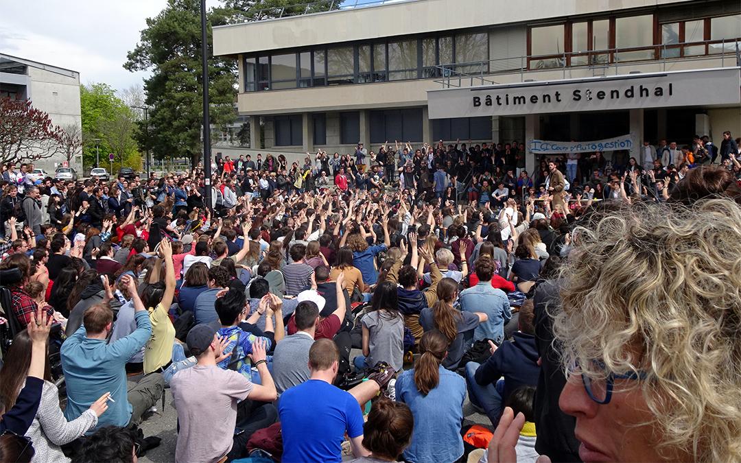 Grenoble : la montée des mécontentements à l'université