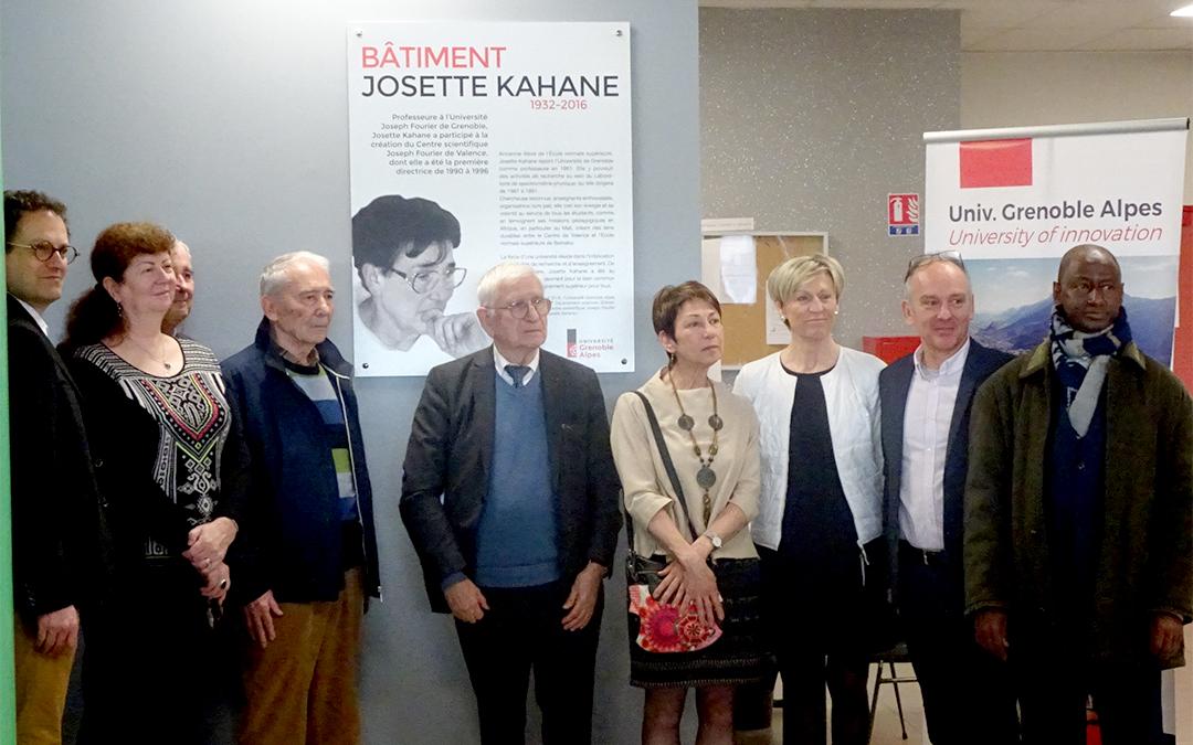 Hommage à Josette Kahane à Valence