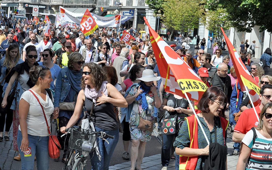 Fonction publique : 4000 à Grenoble