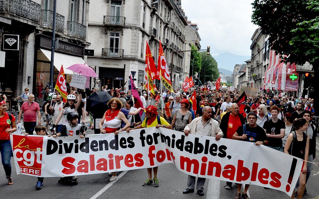 A Grenoble, 3500 personnes à la marée populaire