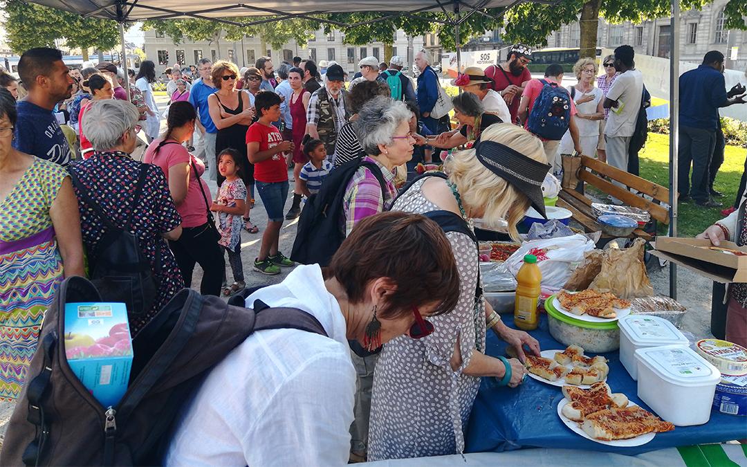 Réfugiés : un pique-nique solidaire