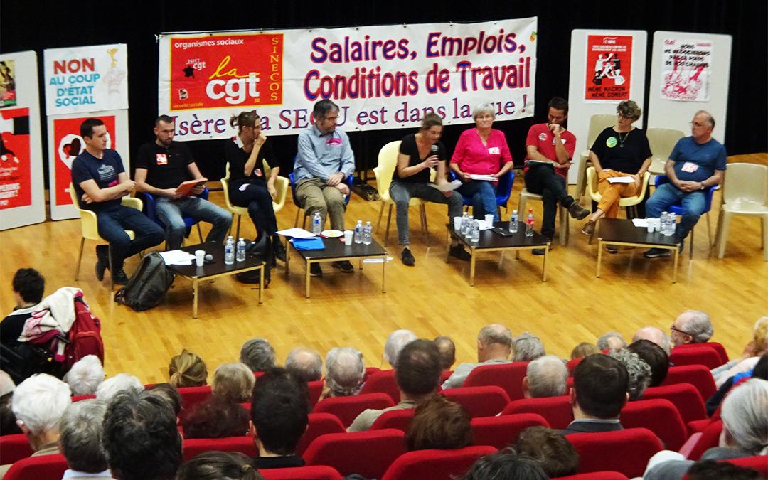 « L'avenir est à nous », meeting unitaire à Fontaine