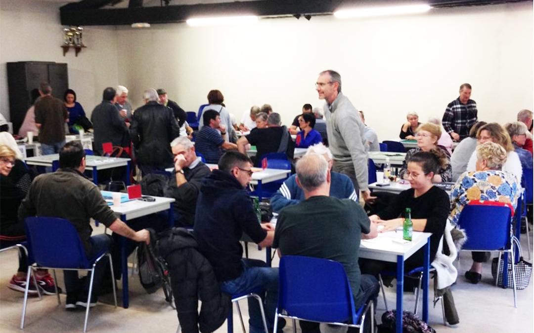 Vizille. Concours de belote et municipale