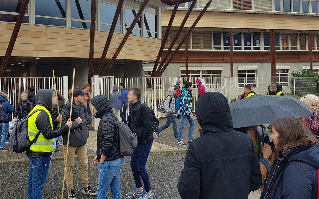 Les revendications des lycéens de Villard-Bonnot