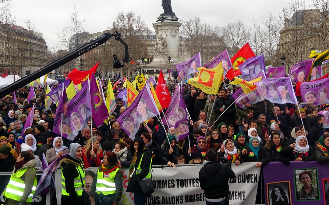 Solidarité Kurdes, une marche contre l'impunité
