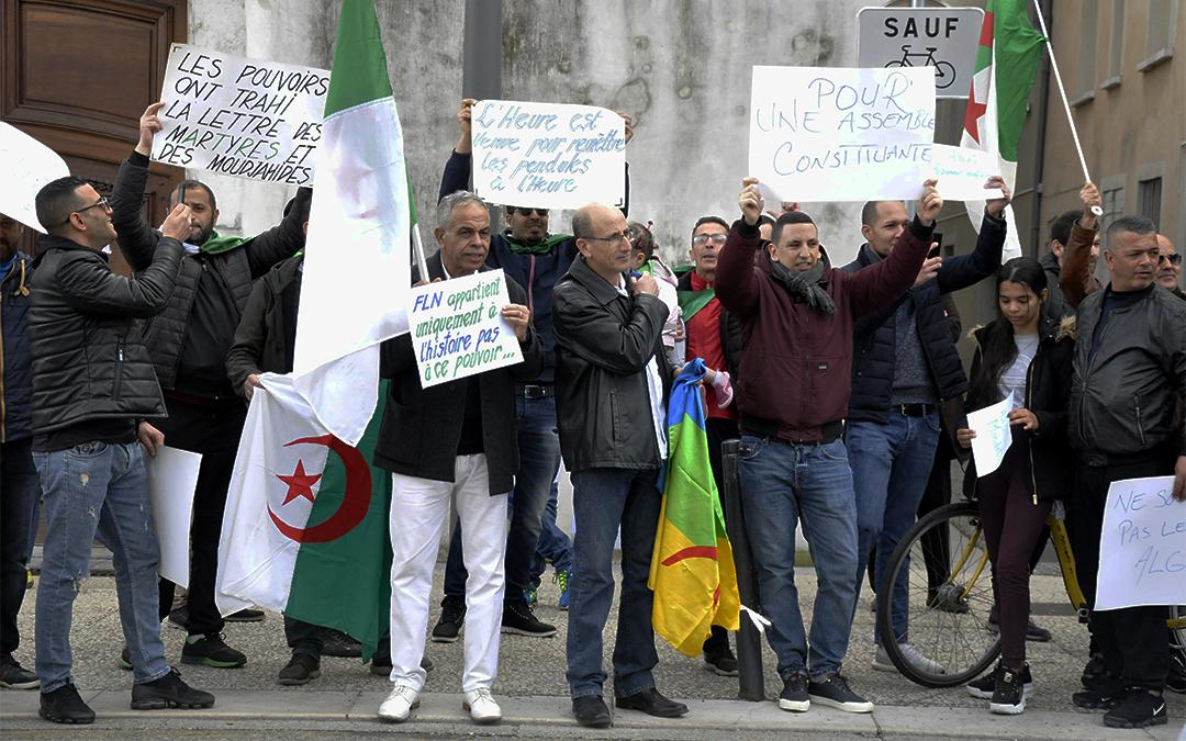 Un militant grenoblois retenu en Algérie