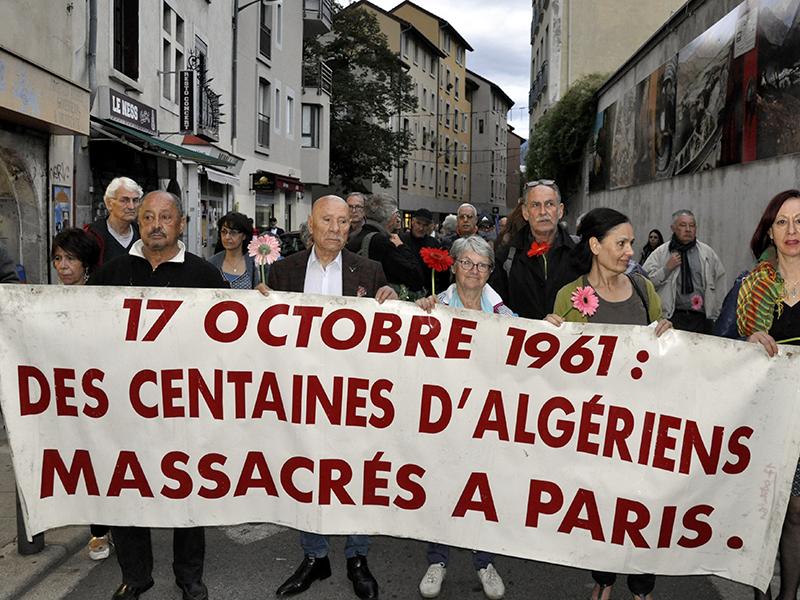 Un 17 octobre sous le signe de l'actualité algérienne et kurde