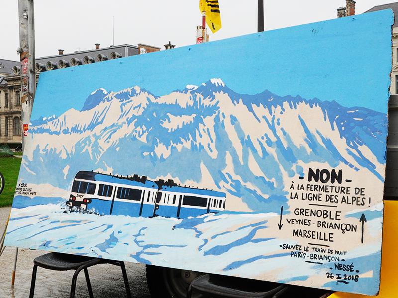 Ligne Grenoble Veynes. Ne manque plus qu'une décision politique