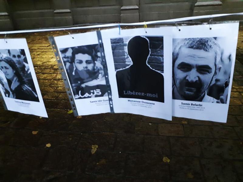 Pour la libération des détenus politiques en Algérie