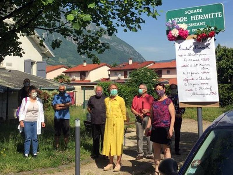 Cérémonies citoyennes à Fontaine le 8 mai