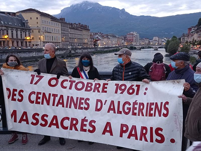 Dans la rue, le passé et le présent de l'histoire franco algérienne