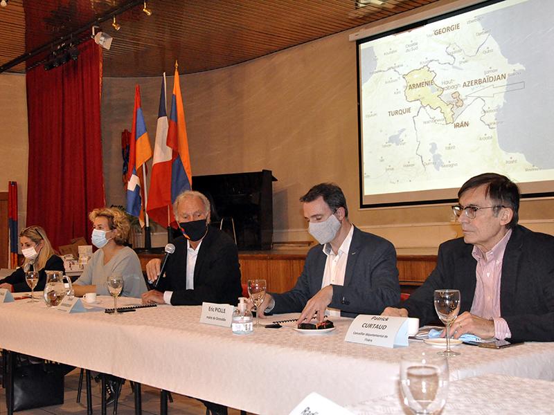 L'aide à l'Arménie concerne les Isérois