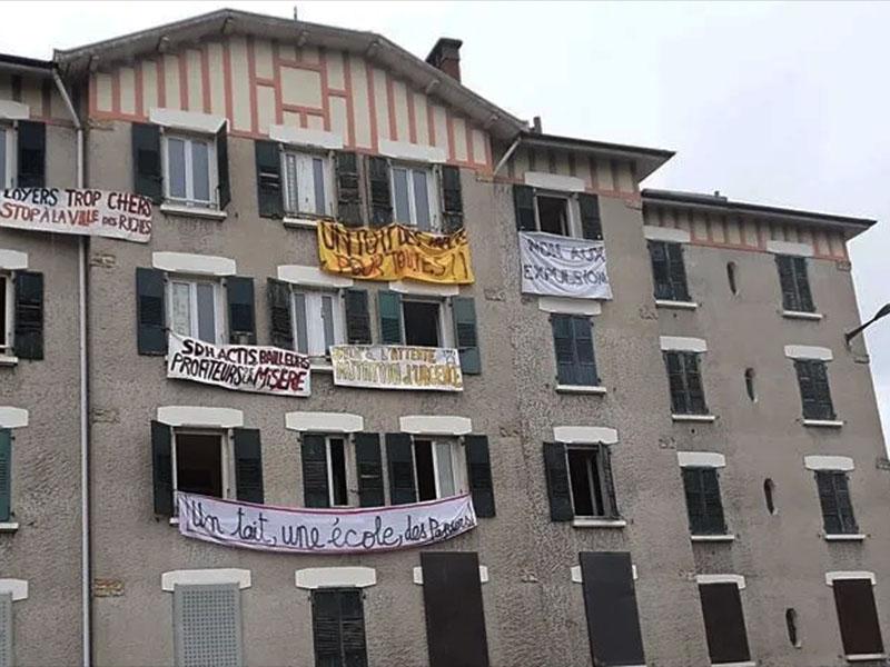 Occupation de logements à l'Abbaye. Les communistes appellent à une solution urgente