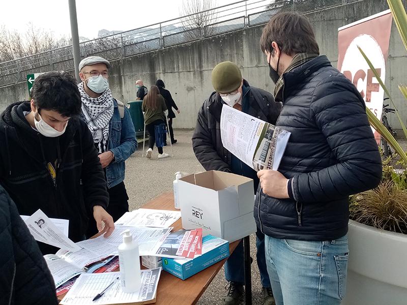 A l'hôpital Sud, à Échirolles, les communistes isérois mobilisés pour la santé