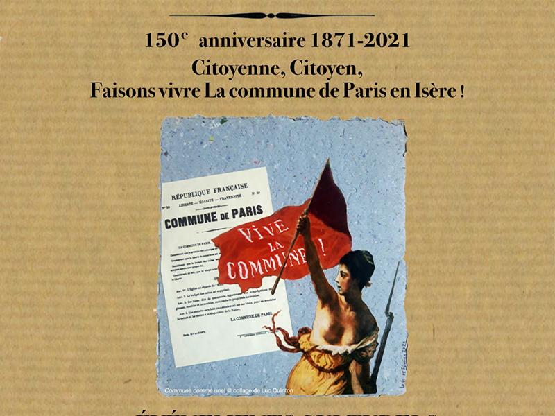 150e anniversaire de la Commune, on commence par la rue Thiers