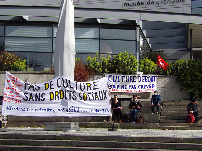 Grenoble, la culture en lutte