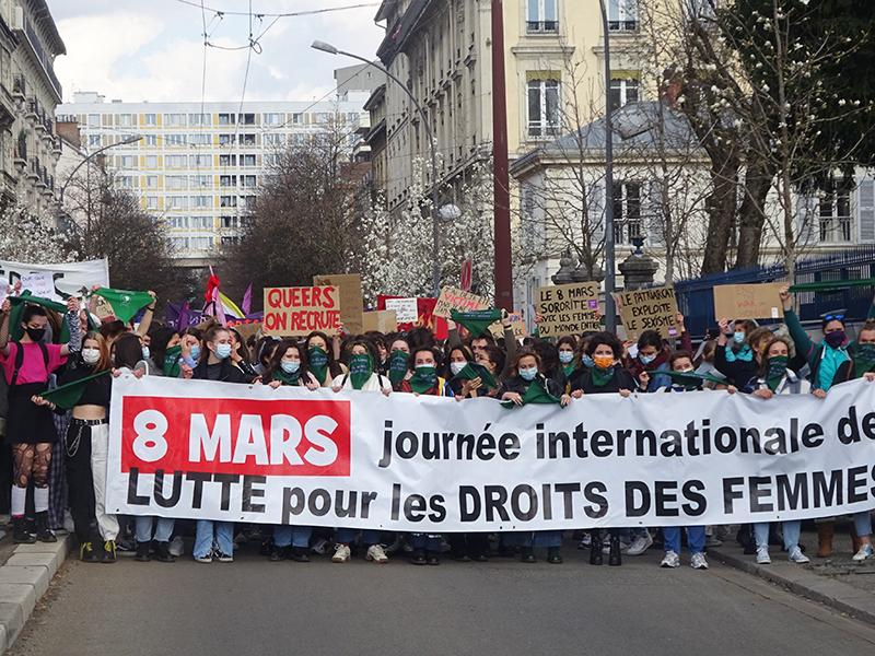 Journée de lutte pour les droits des femmes : la détermination au rendez-vous