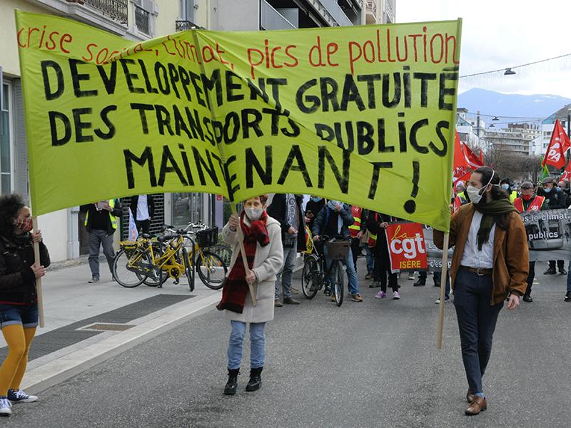 Gratuité des transports, Grenoble à la traîne ?