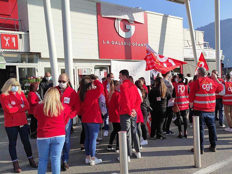 Géant Casino Fontaine, le ras-le-bol et la grève