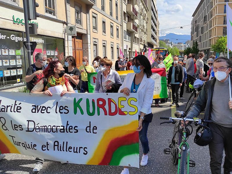 Solidarité avec les démocrates turques réprimés