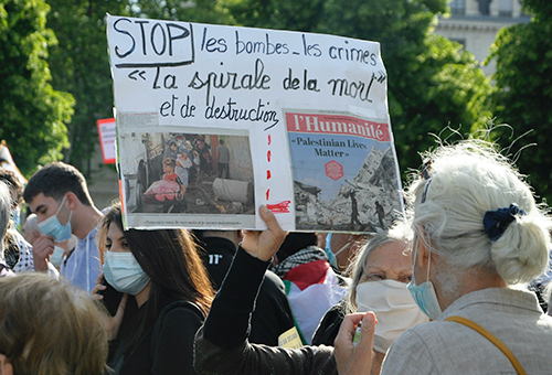 L'Humanité Palestine Grenoble