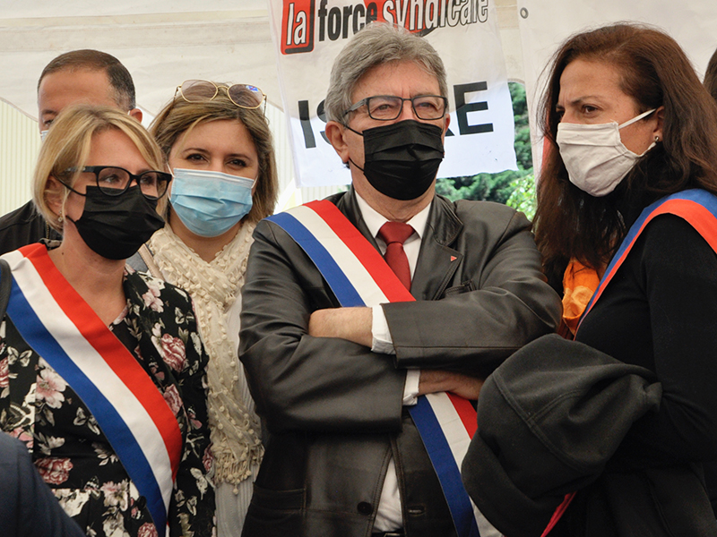 FerroPem. Jean-Luc Mélenchon défend la constitution d'une filière industrielle du silicium