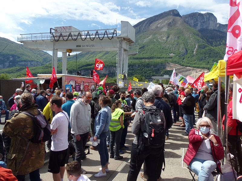 Saint-Égrève. Le barrage au démantèlement d'EDF