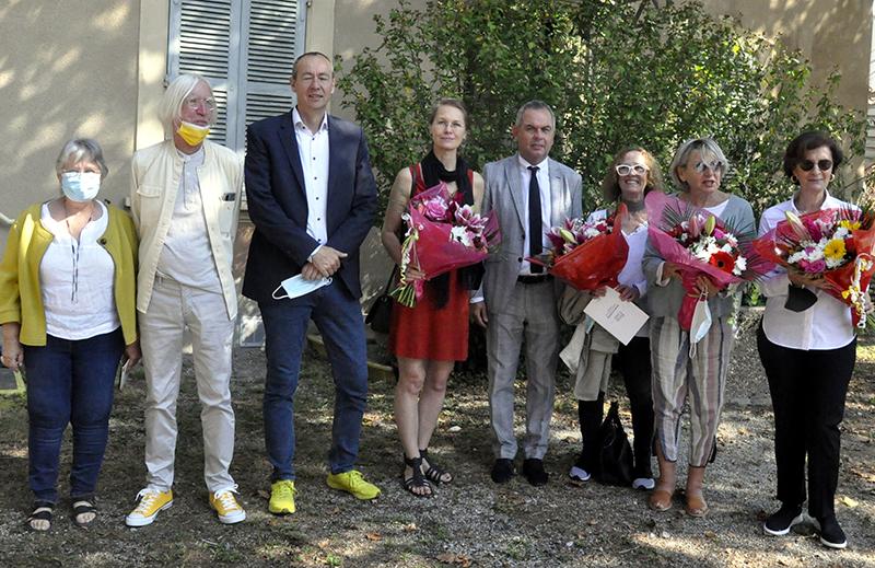 Biennale internationale d'art non objectif à Pont-de-Claix : «Que des femmes…»